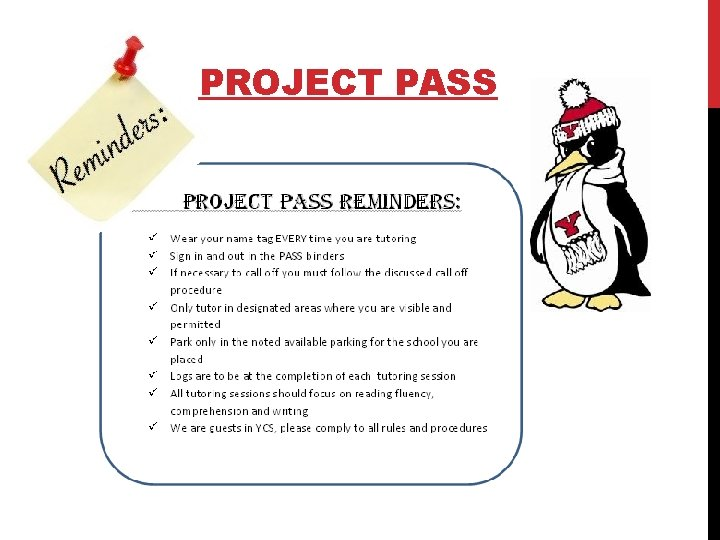 PROJECT PASS
