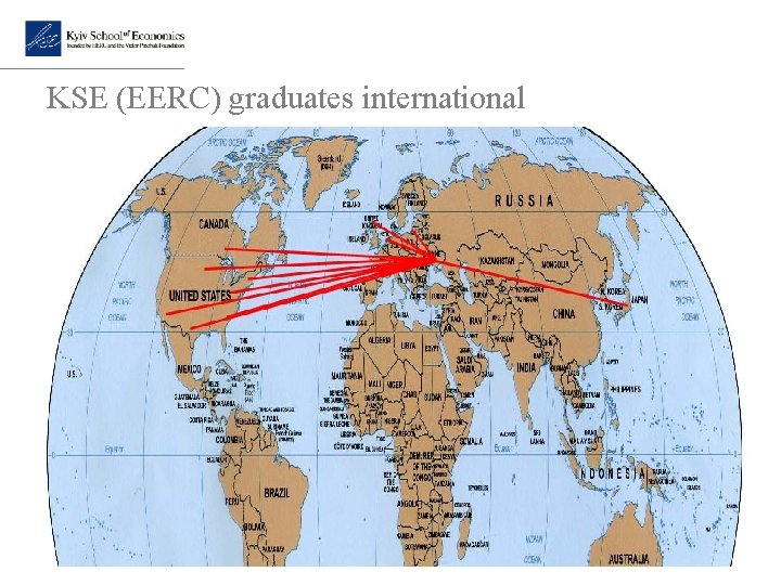 KSE (EERC) graduates international