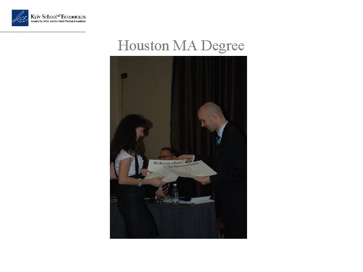 Houston MA Degree