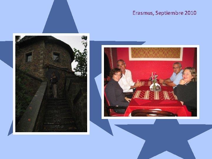 Erasmus, Septiembre 2010