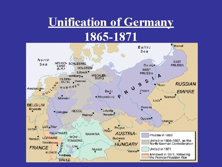 Unification of Germany 1865 -1871
