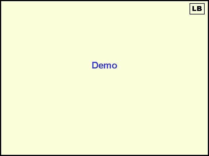 LB Demo