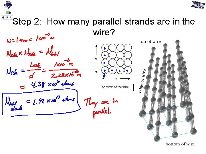 Step 2: How many parallel strands are in the wire?