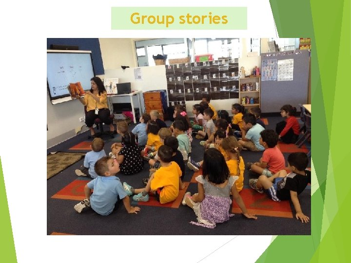 Group stories