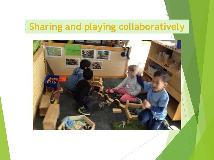 Sharing and playing collaboratively