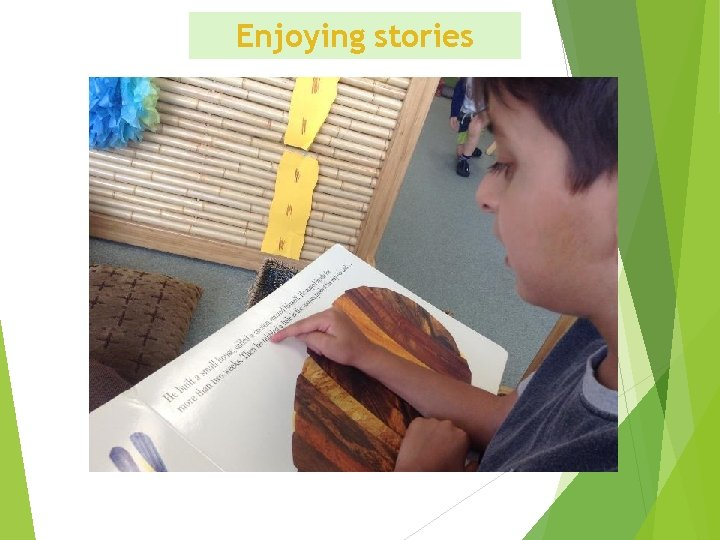 Enjoying stories