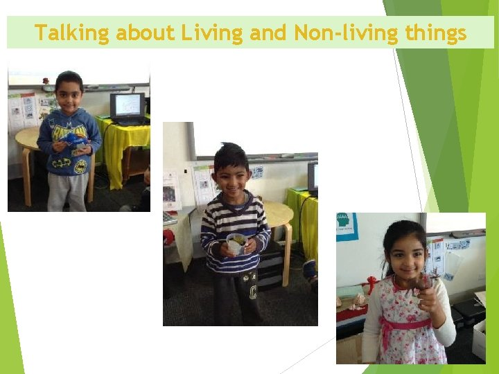 Talking about Living and Non-living things