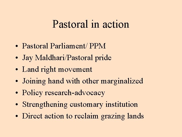 Pastoral in action • • Pastoral Parliament/ PPM Jay Maldhari/Pastoral pride Land right movement