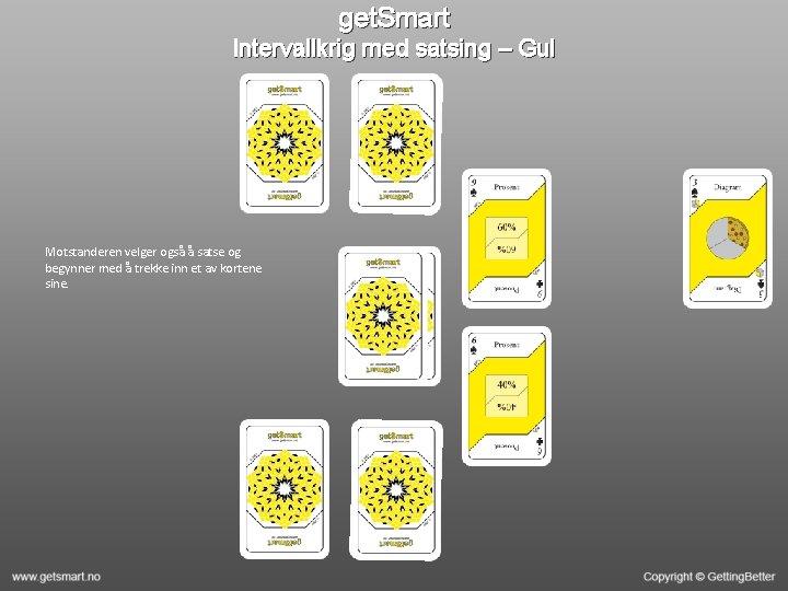 get. Smart Intervallkrig med satsing – Gul Motstanderen velger også å satse og begynner