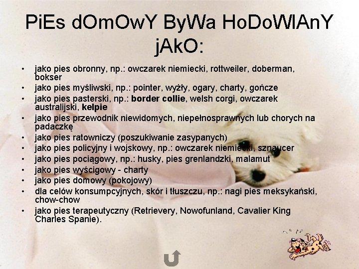 Pi. Es d. Om. Ow. Y By. Wa Ho. Do. Wl. An. Y j.