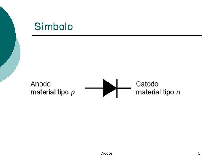 Símbolo Diodos 5