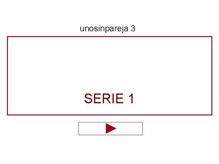 unosinpareja 3 SERIE 1