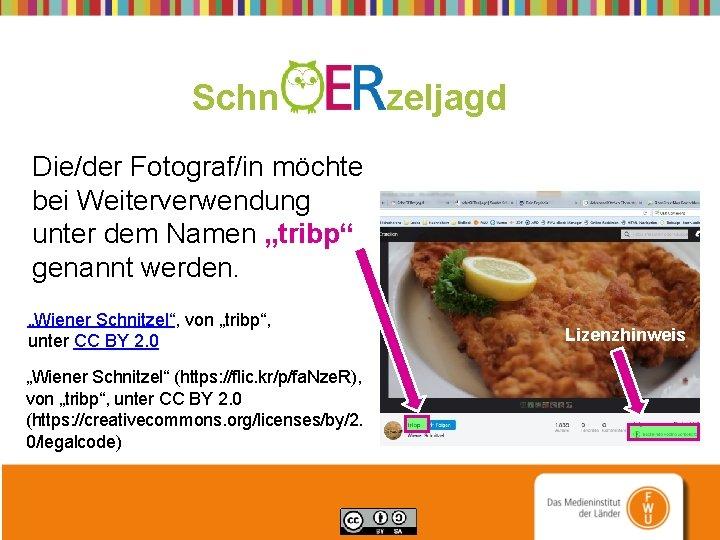 """Schn zeljagd Die/der Fotograf/in möchte bei Weiterverwendung unter dem Namen """"tribp"""" genannt werden. """"Wiener"""