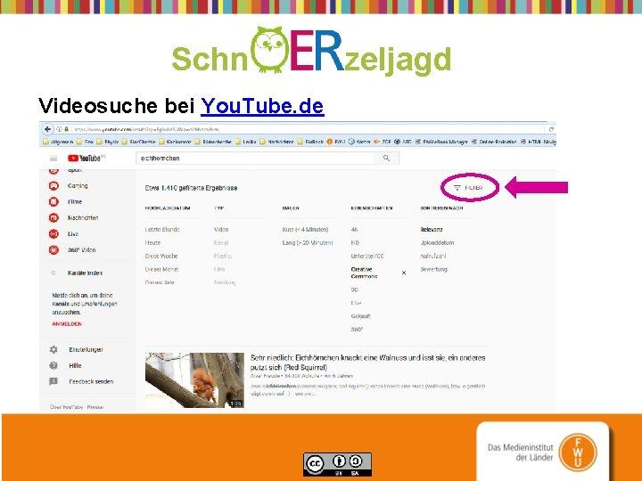 Schn zeljagd Videosuche bei You. Tube. de
