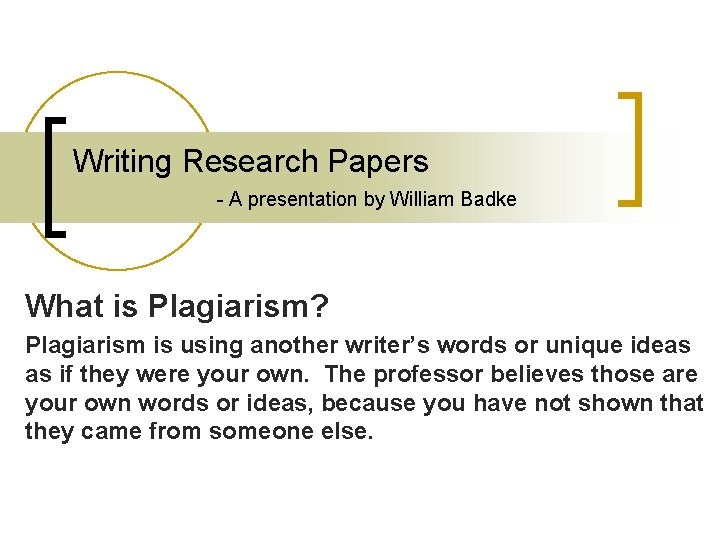 Understanding write a research paper for me
