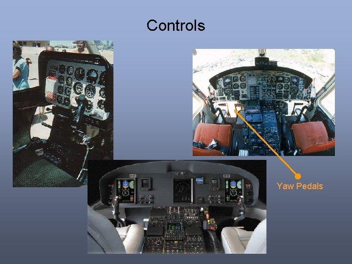 Controls Yaw Pedals