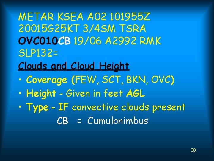 Metartaf The International Weather Code By Bob Jackson