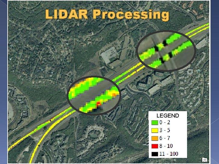 LIDAR Processing LEGEND