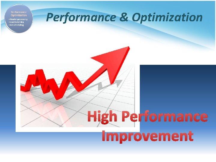 Performance & Optimization High Performance Improvement