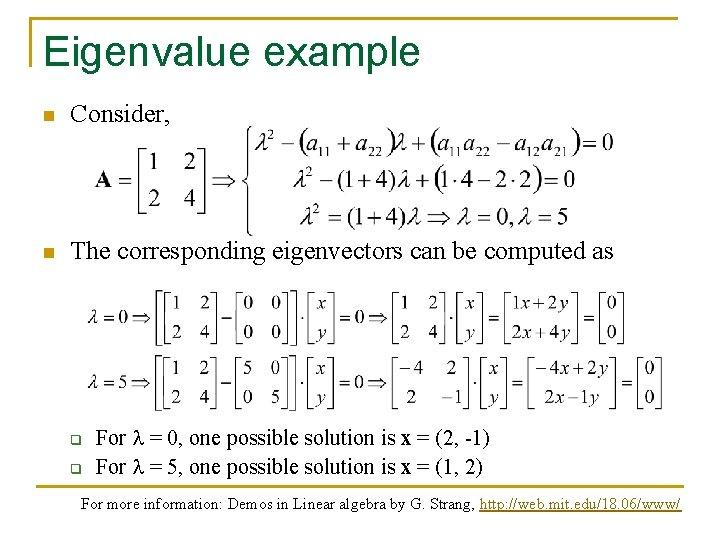 Eigen Decomposition And Singular Value Decomposition Based On