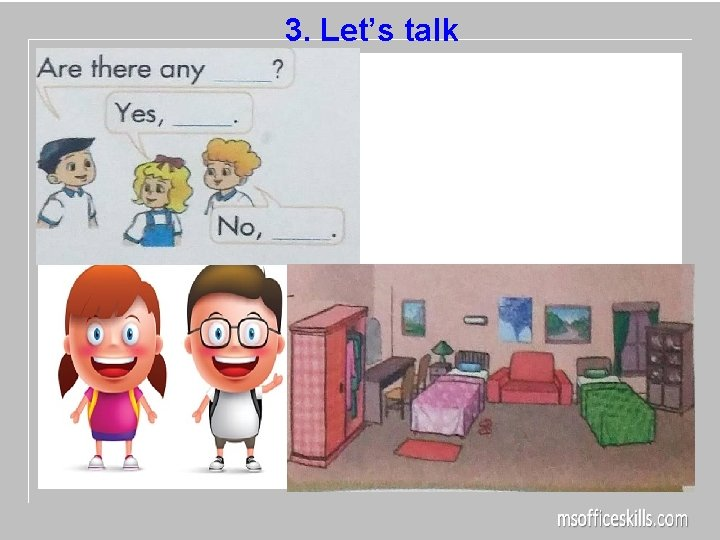 3. Let's talk
