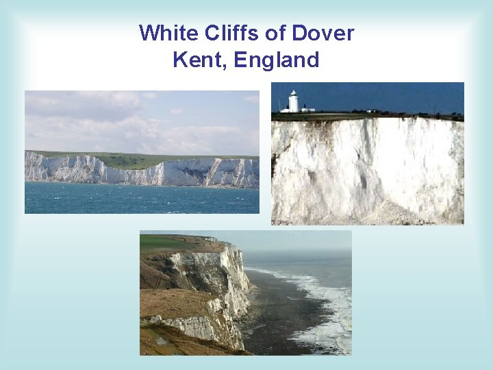 White Cliffs of Dover Kent, England