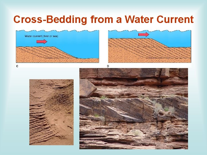 Cross-Bedding from a Water Current
