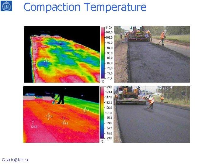 Compaction Temperature Guarin@kth. se