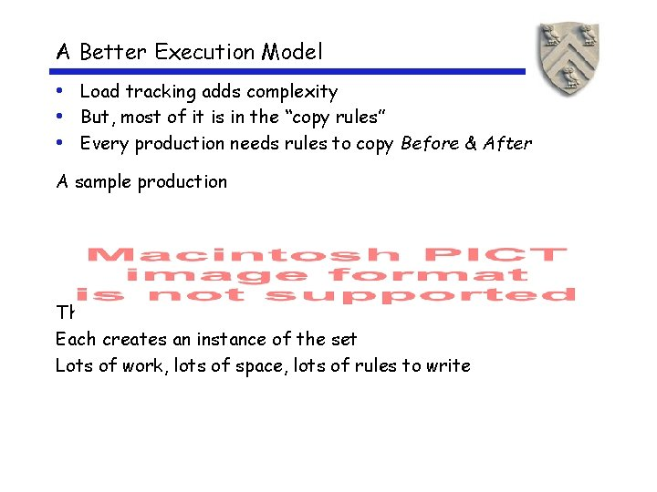 A Better Execution Model • Load tracking adds complexity • But, most of it