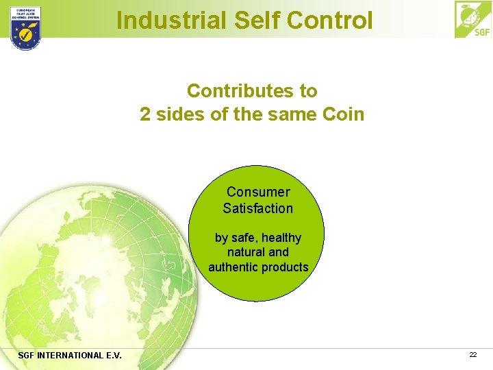 Industrial Self Control Contributes to 2 sides of the same Coin Consumer Satisfaction by