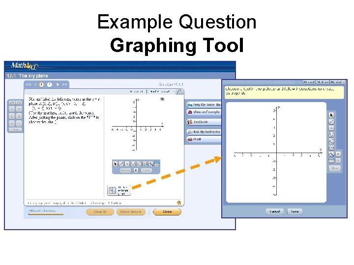 Example Question Graphing Tool