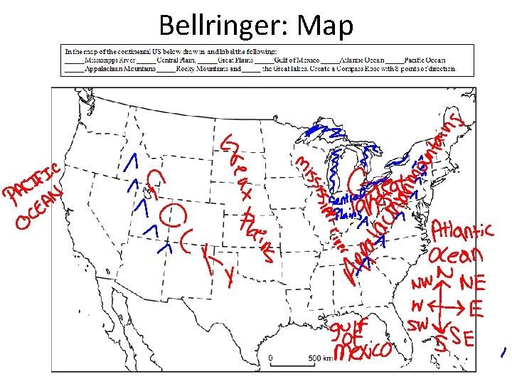 Bellringer: Map