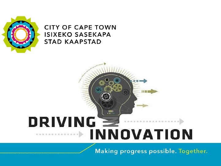 DRIVING INNOVATION Presented by: