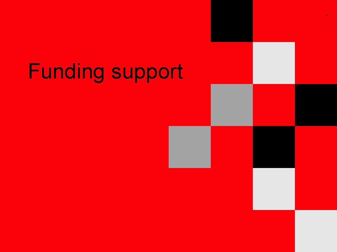 4 Funding support
