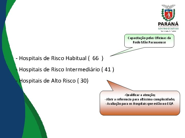 Capacitação pelas Oficinas da Rede Mãe Paranaense - Hospitais de Risco Habitual ( 66