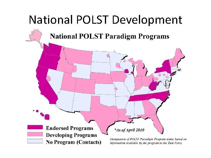 National POLST Development