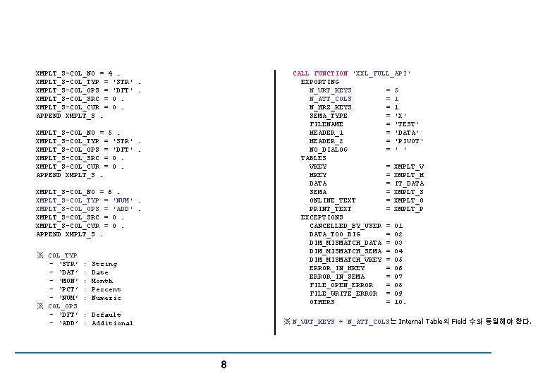File Controlling XMPLT_S-COL_NO = 4. XMPLT_S-COL_TYP = 'STR'. XMPLT_S-COL_OPS = 'DFT'. XMPLT_S-COL_SRC = 0.