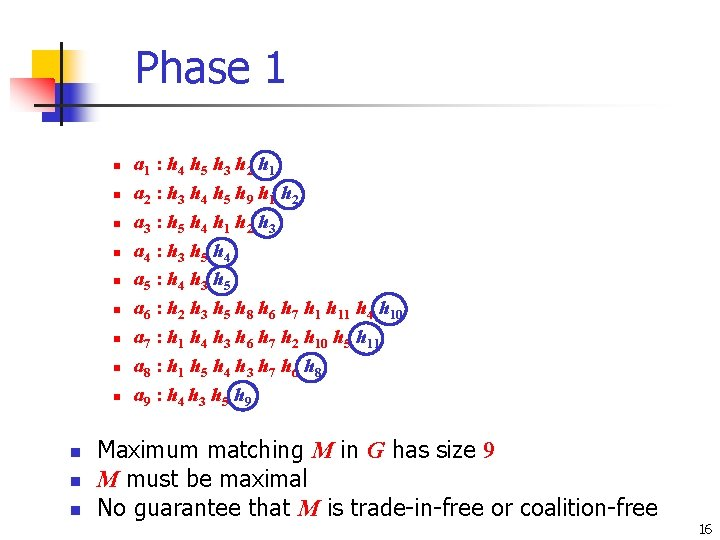 Phase 1 n n n a 1 : h 4 h 5 h 3