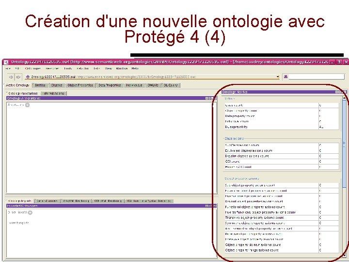 Création d'une nouvelle ontologie avec Protégé 4 (4) 13