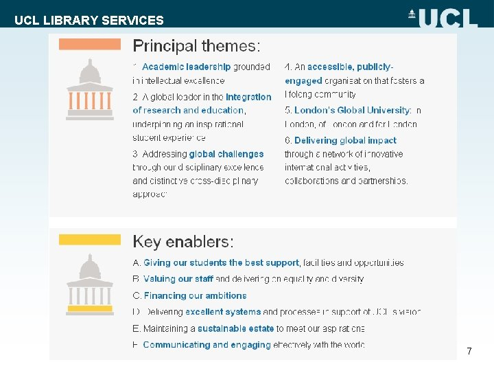 UCL LIBRARY SERVICES 7