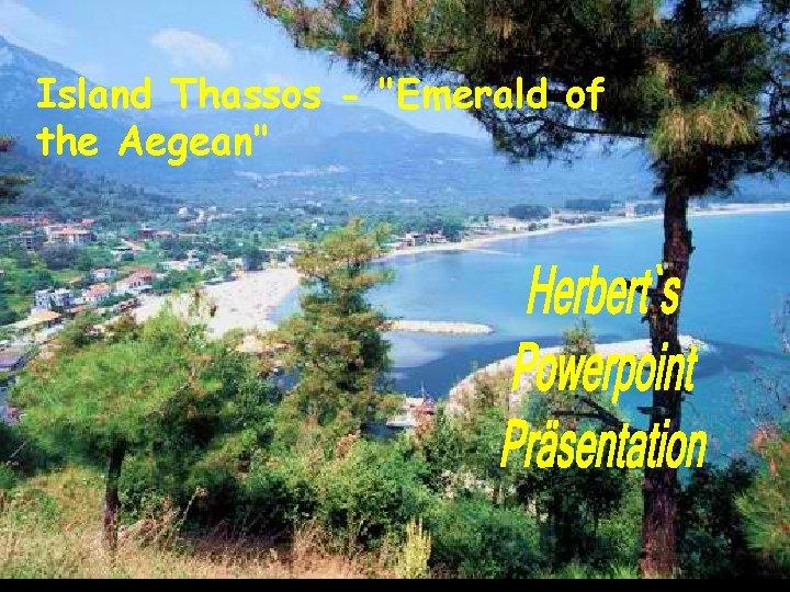 Island Thassos -