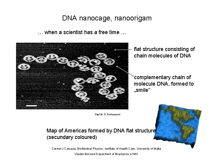 DNA nanocage, nanoorigam … when a scientist has a free time … flat structure
