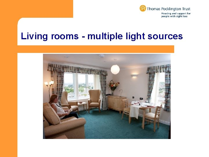 Living rooms - multiple light sources