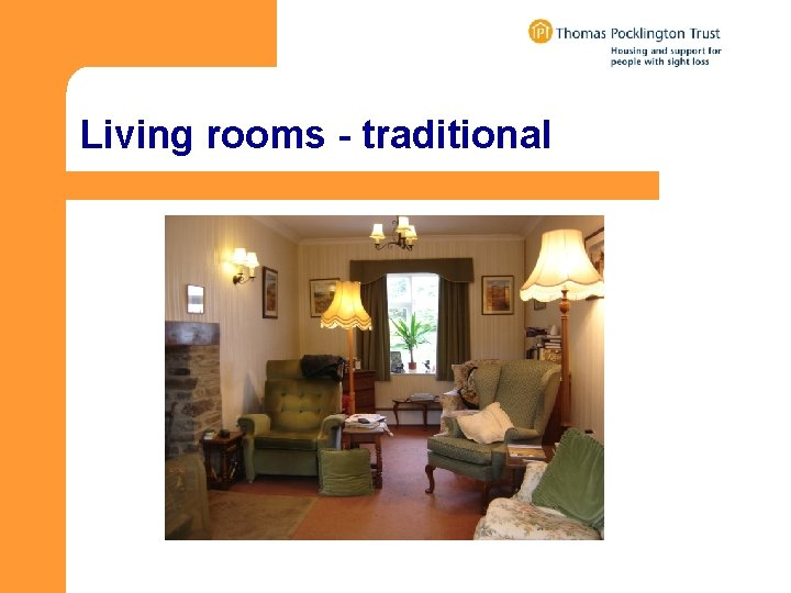 Living rooms - traditional
