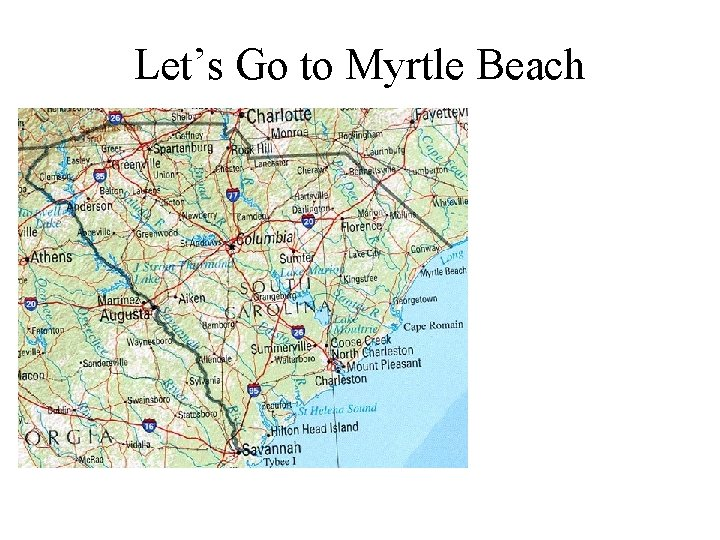 Let's Go to Myrtle Beach