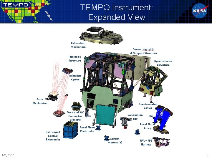TEMPO Instrument: Expanded View 6/1/2016 5