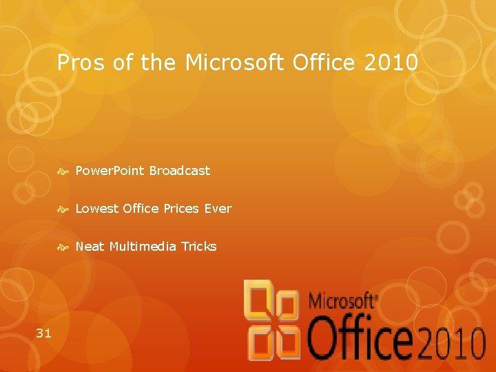 Pros of the Microsoft Office 2010 Power. Point Broadcast Lowest Office Prices Ever Neat
