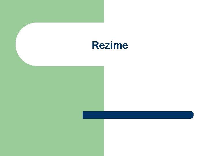 Rezime