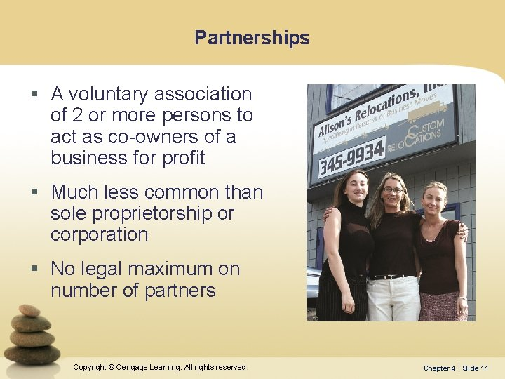 Partnerships § A voluntary association of 2 or more persons to act as co-owners