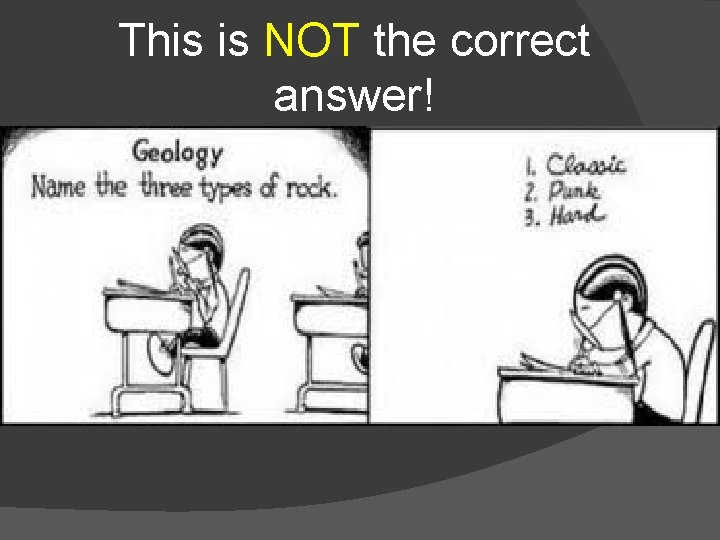 This is NOT the correct answer!